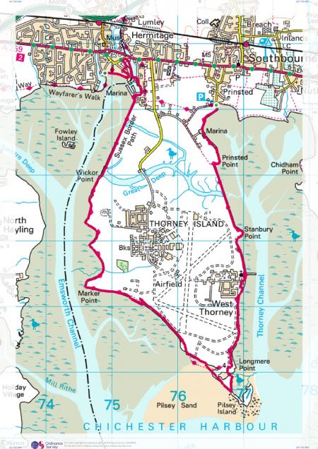 Prinsted Sussex To Emsworth Hampshire