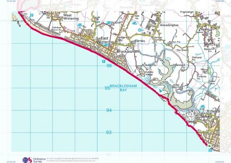 Selsey Bill To Fishbourne West Sussex