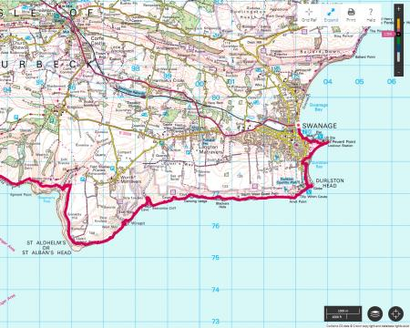 Swanage To Kimmeridge Bay Dorset